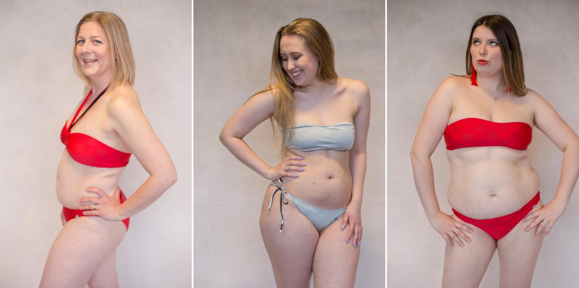 body positive bikini photoshoot by Viktoria Kuti Photography, Bristol
