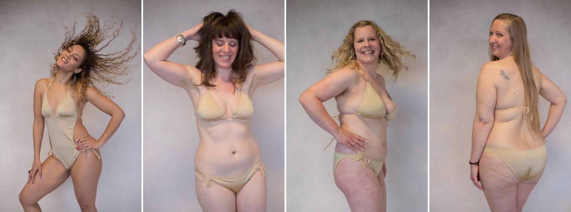 body positive bikini photoshoot by Viktoria Kuti Photography, Bristol UK